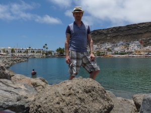 Me in Puerto Mogan GC 2015 and where I want to be again soon!